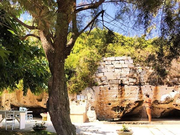 Lido la Castellana Otranto acqua di sorgente