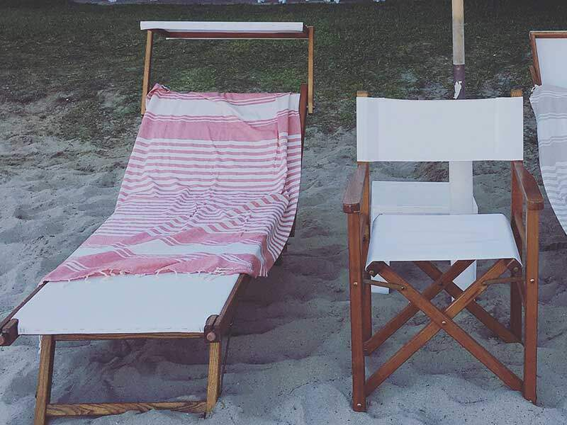 Beach Towels at Lido la Castellana Otranto